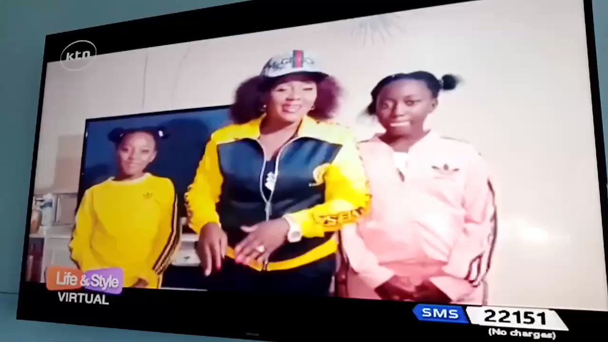 #RT @KTNLife_Style: #RT @KtnTNL: RT @ktnhome_: Princess Farida with her 2 daughter's  jamming on #ktnlifeandstyle  Wueeh!! Kosa Uchekwe