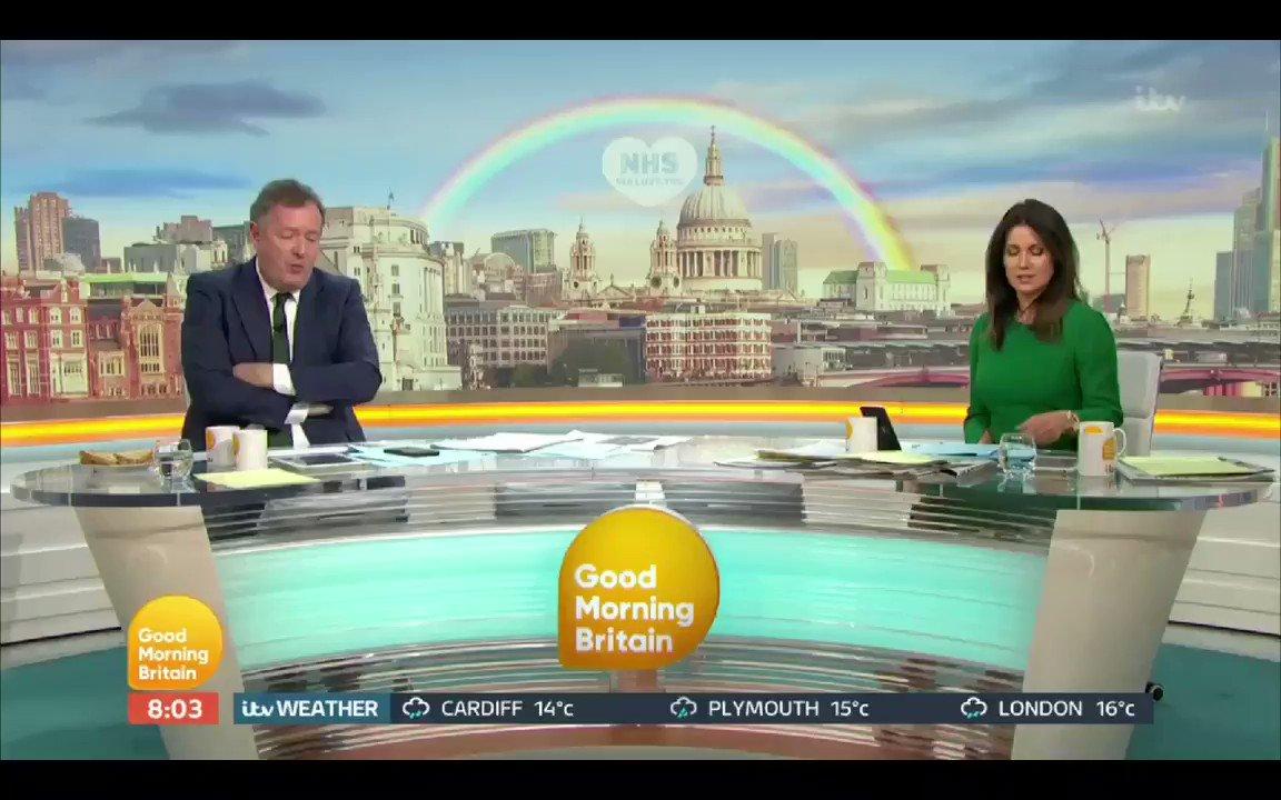 "Image for the Tweet beginning: Piers Morgan - ""The UK"