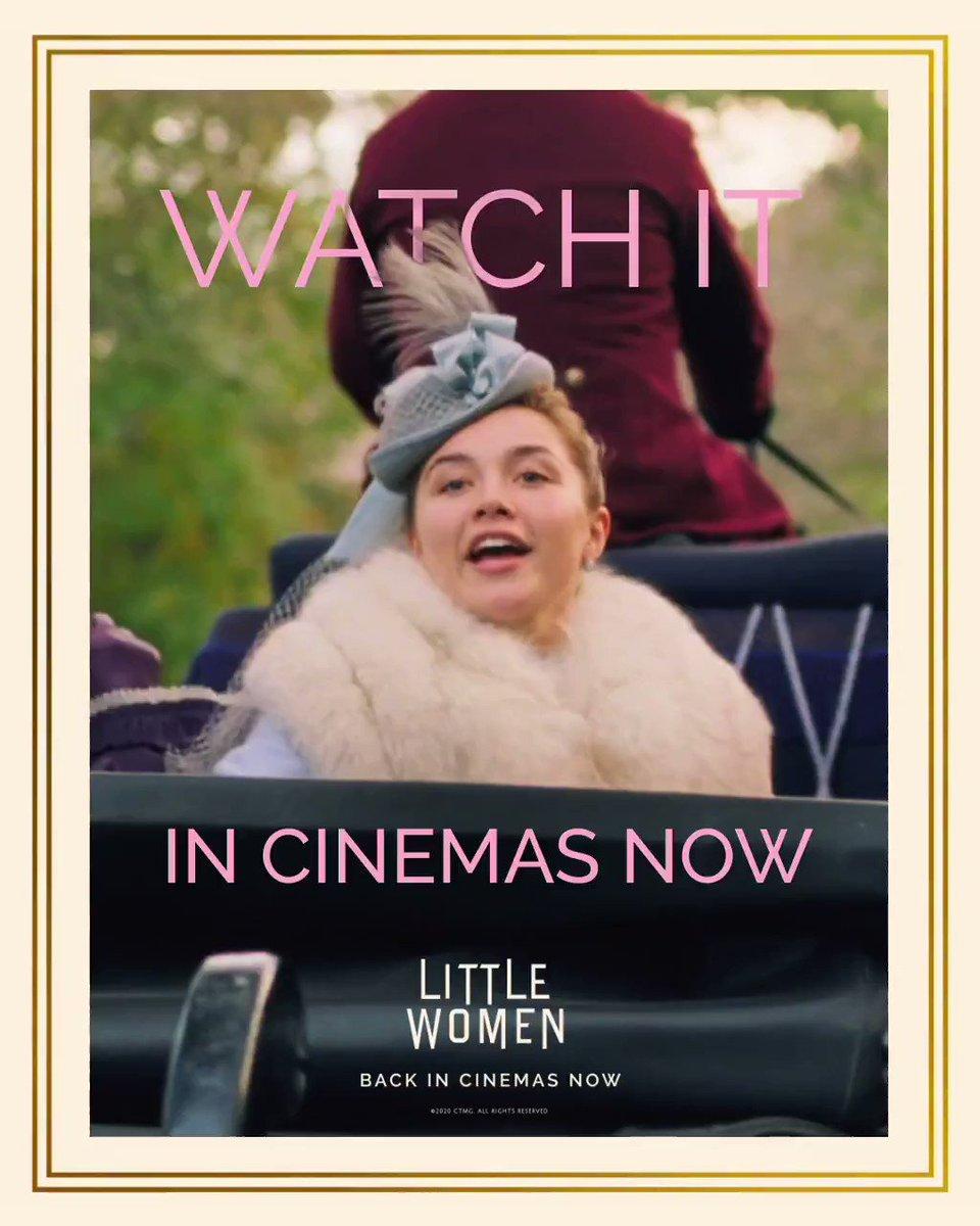 It's your chance to catch Emma Watson, Saoirse Ronan and Timothée Chalamet in Little Women back in cinemas NOW in Dubai!   #LittleWomen #Cinemas #Dubai #BackInCinemas #TimothéeChalametpic.twitter.com/XC2D1ZmIot