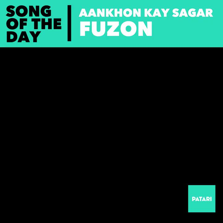 Witness a great guitarist at work here! Shallum Xavier and his magic fingers and a track that was every cool dudes ringtone back in the days :) Listen on Patari for old times sake: bit.ly/2AzQtMd #PatariSOTD #Fuzon #AnkhonKaySagar #Classics #ShallumXaviar