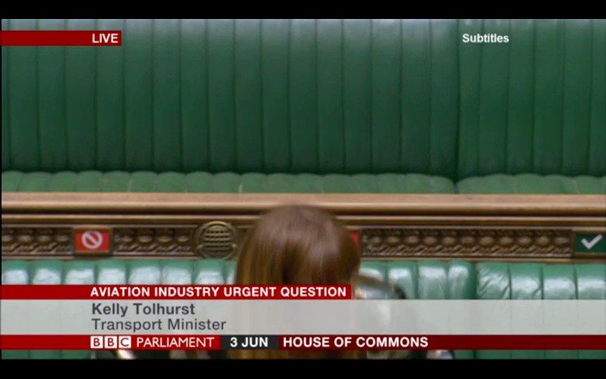 """Ian Paisley MP tells the Transport Minister that BA staff feel """"absolutely betrayed"""" by the company, and urges the Government to take action."""