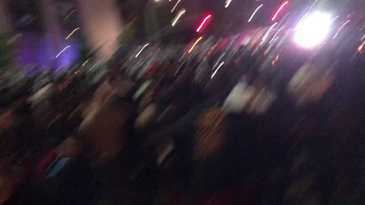 The moment NYPD struck against peaceful protesters in downtown Brooklyn