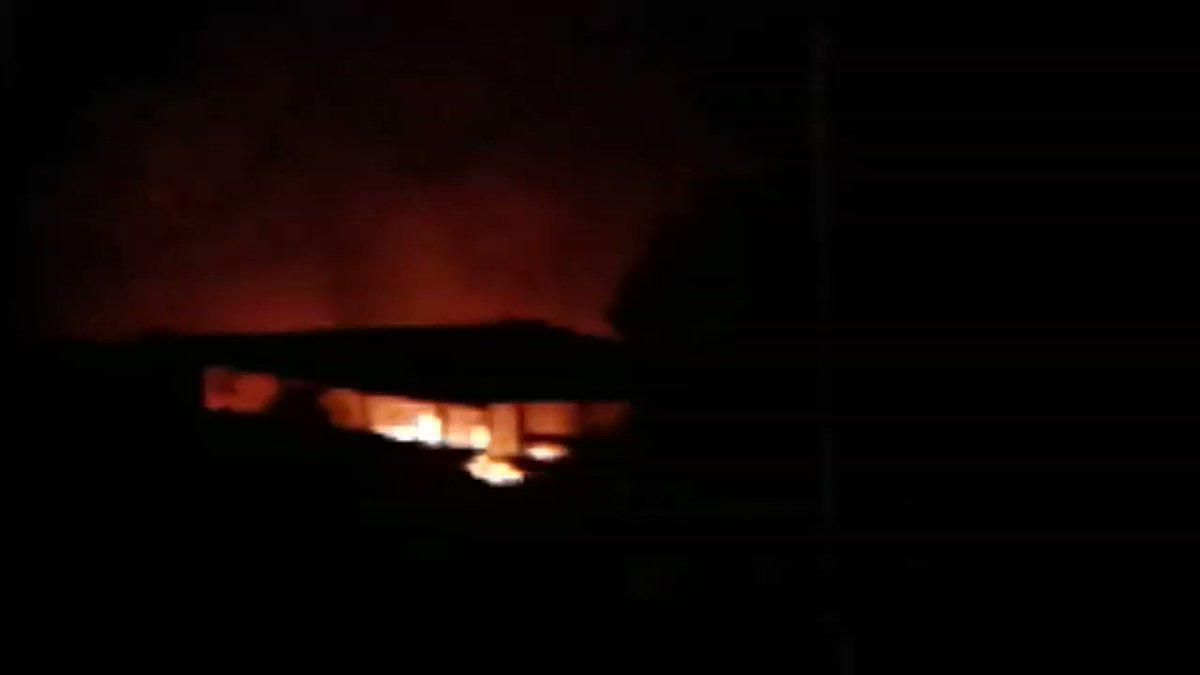 @DeborahTiempo fuego carr #2 Dorado Bo. Espinoza cerca antiguo safari park