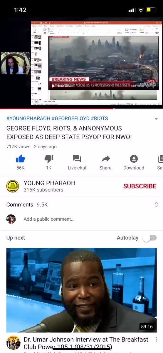 GO WATCH THIS VIDEO #YOUNGPHARAOH STAY WOKE . pic.twitter.com/hPprfTWOeH