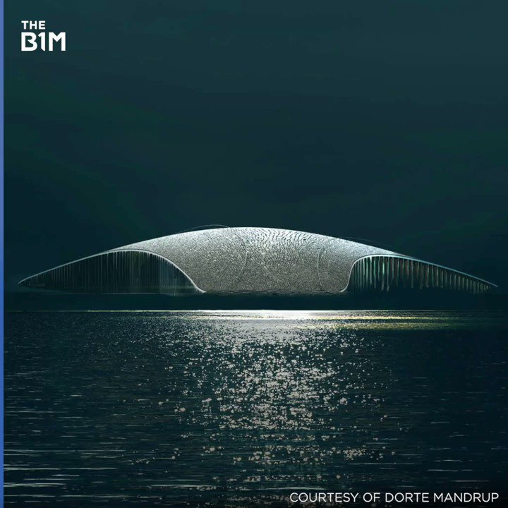Norway is building this spectacular whale tail-shaped building in the Arctic Circle. #architecture #design #constructionpic.twitter.com/tdSJOklEFT