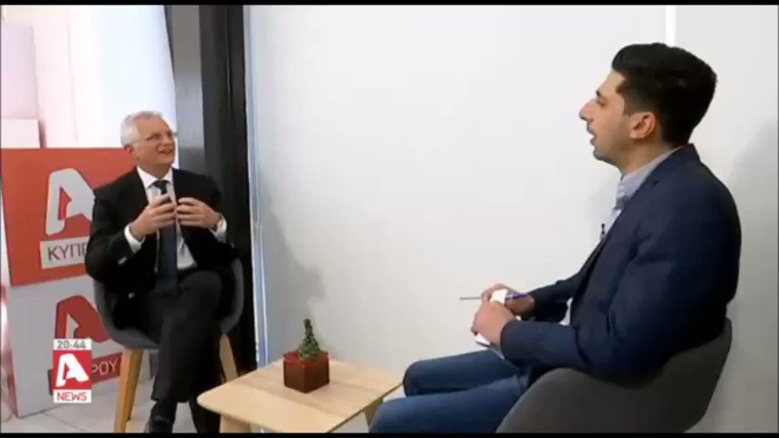 Interview to @zannettosn Alpha TV: #Israel 🇮🇱 has a clear strategy in the region and this is demonstrated in the Trilateral w/ #Cyprus 🇨🇾 & #Greece 🇬🇷.  We believe that we should base our #future in this region on our shared #values and a common #vision 🔗