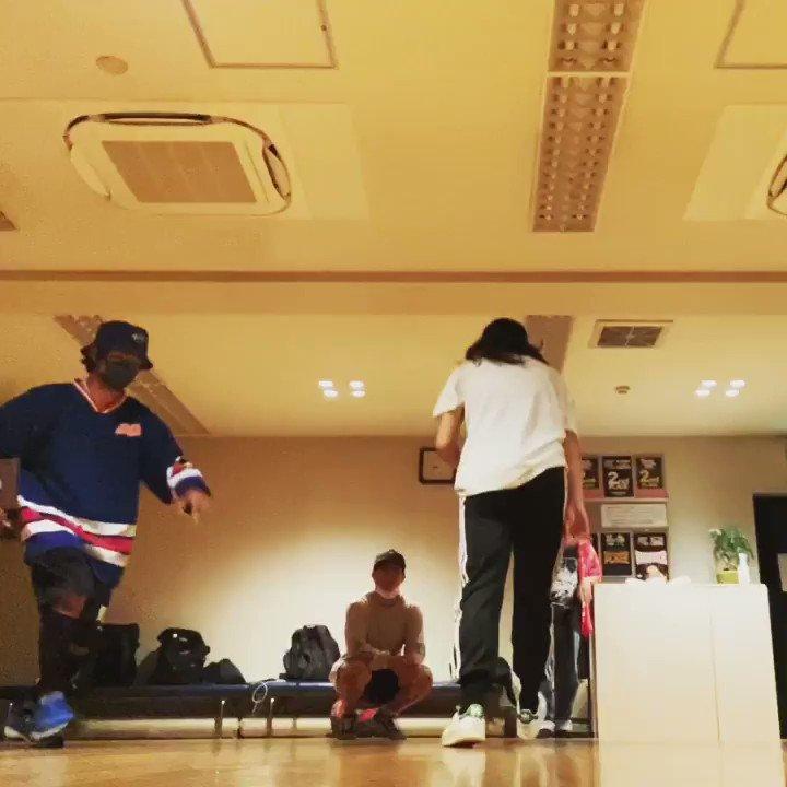 Image for the Tweet beginning: ダメウインドです。 なぜかウインドからバックスピンに繋げられた笑笑 練習しよ。  #dance #streetdance #breakdance #ダンス #bboy