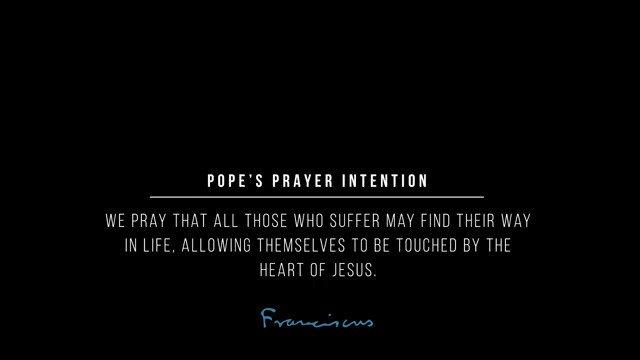 Image for the Tweet beginning: Listen to @Pontifex speak about