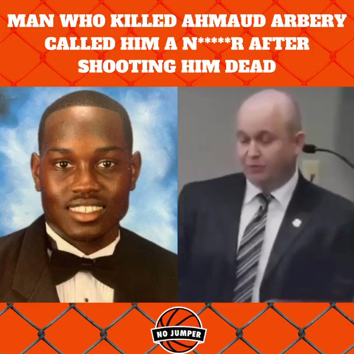 Man who killed #AhmaudArbery called him a N*****r after shooting him dead. #JusticeforAhmaudArbery