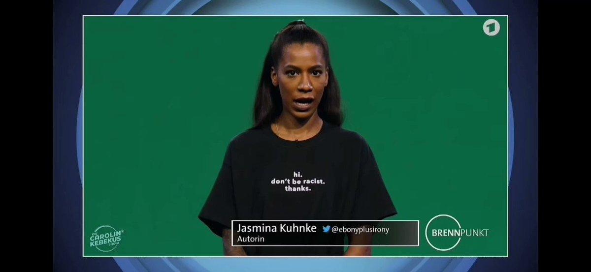 Meine Schwester .@ebonyplusirony kämpfte im KKH um ihr Leben, die diensthabende Schwester wollte ihr nicht helfen, weil: Ich fasse schwarze Menschen nicht gerne an Unfassbar? Nö, Alltag. Kebekus-Brennpunkt zum Thema #Rassismus: youtu.be/5wIvvH-gJFk #BlackLivesMatter