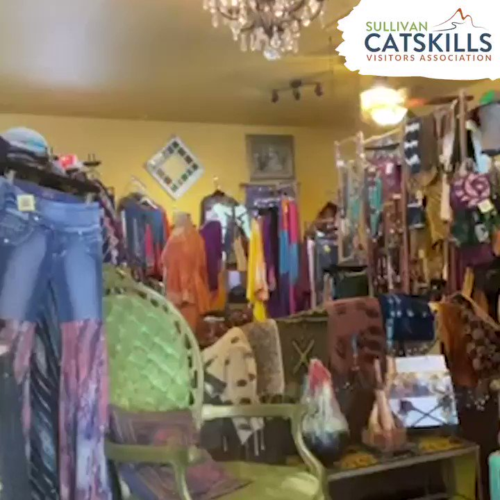 No one makes us smile the way Patti at the The Funky Hippy Chic Boutique does! She's bringing the sunshine during these hard times and we're so thankful for her #SullivanCatskills spirit! #MySullivanCatskills #IloveNY #Catskillspic.twitter.com/huvggqLi2F