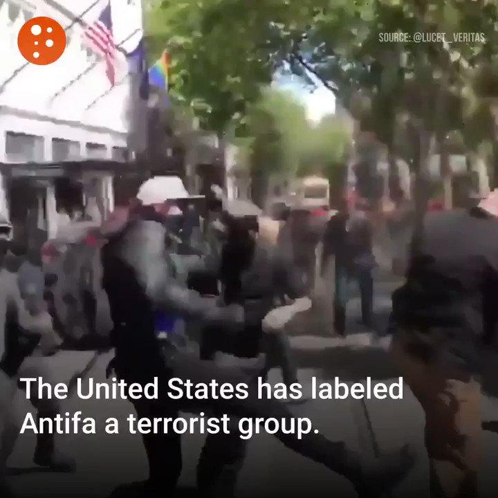 Image for the Tweet beginning: #Antifa needs to be called