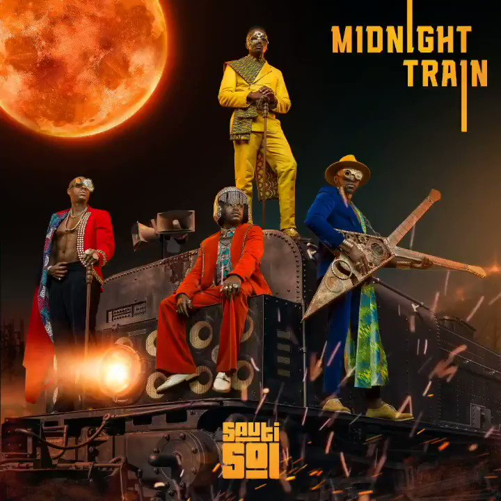 It's here! #MidnightTrain OUT NOW!