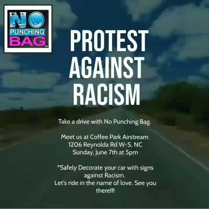 Hi Friends! Let's Ride Against Racism Drive with us in the name of Love Let's get Creative with those Cars! Time to surprise some folks. We need everyone on this side of Freedom at the polls.  Share and Like video  #nopunchingbag #blacklivesmatter #onelove
