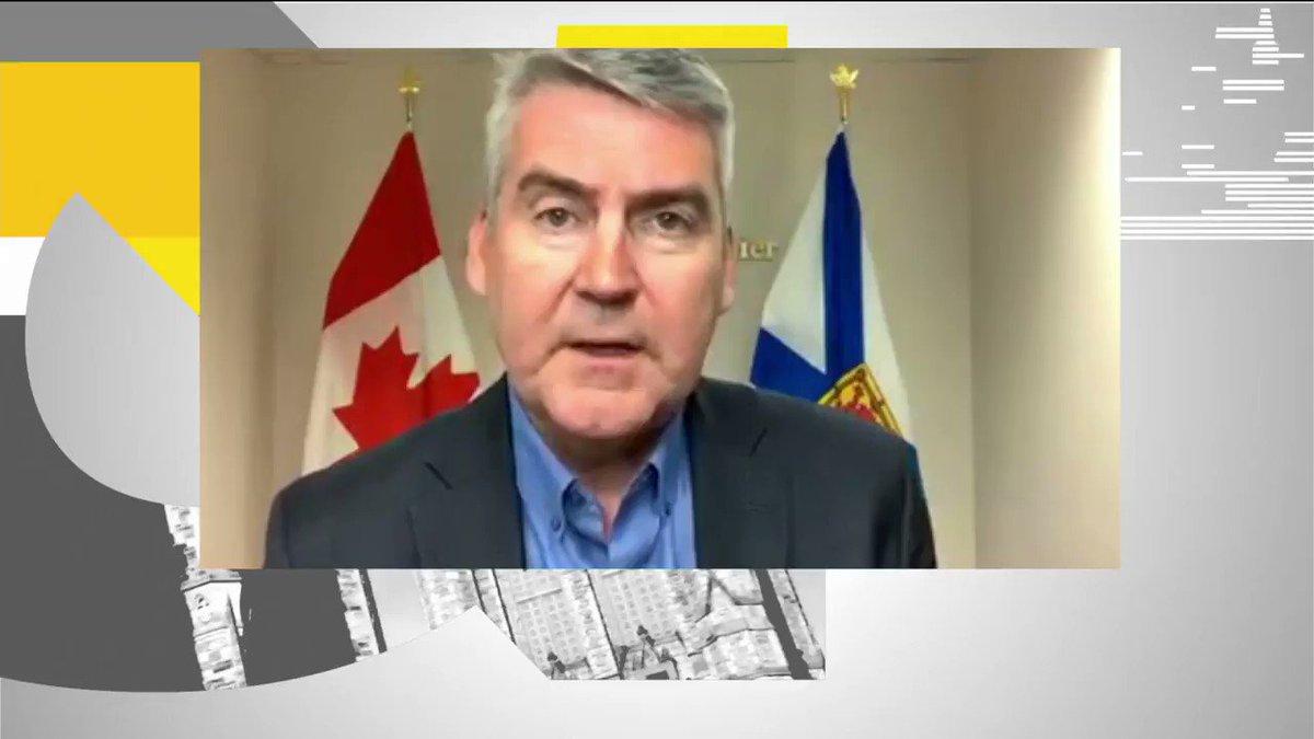 Image for the Tweet beginning: Nova Scotia Premier @StephenMcNeil says