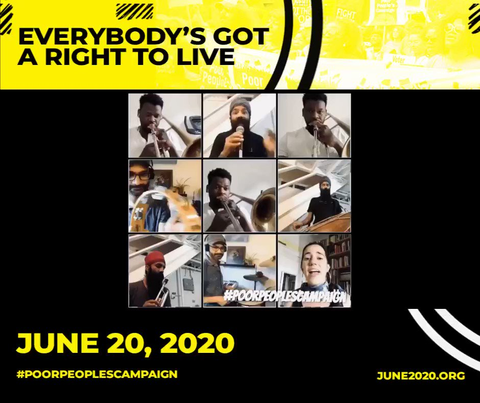 Image for the Tweet beginning: RSVP & join the #PoorPeoplesCampaign