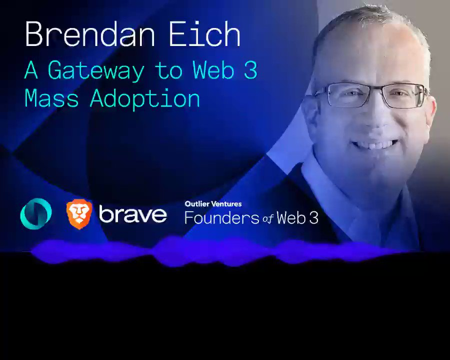 Another fantastic episode🎙️ with @BrendanEich, Founder and CEO of @brave, in which he talks about the origin of Surveillance Capitalism business model with host @jamie247. 👉podcasts.apple.com/gb/podcast/how… #Web3 #adtech