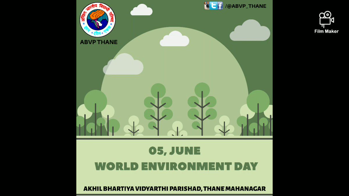 World Environment Day makes us aware regarding our responsibilities towards nature and livings. Thanks to all Students and Karyakartas for participating today. Together we can make our Environment more better place to live #WorldEnvironmentDay2020 🌱