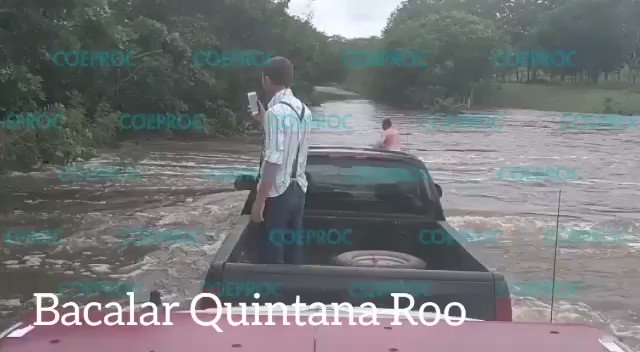 Image for the Tweet beginning: 🔴 #QuintanaRoo y #Chiapas también