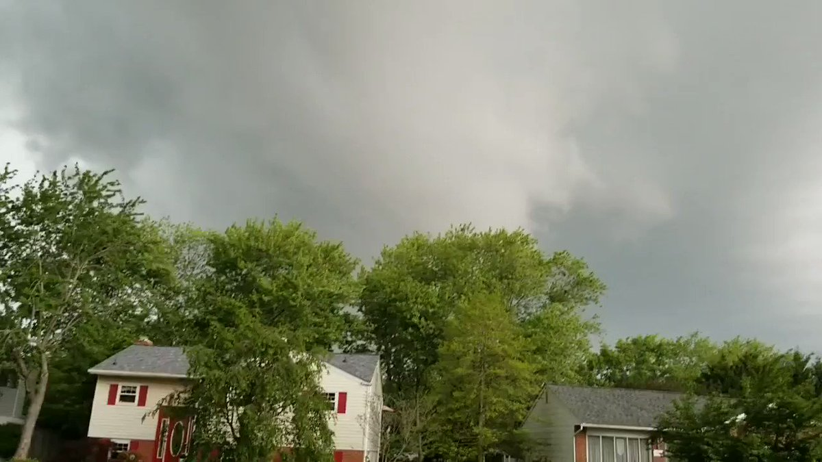 Storm is moving fast!