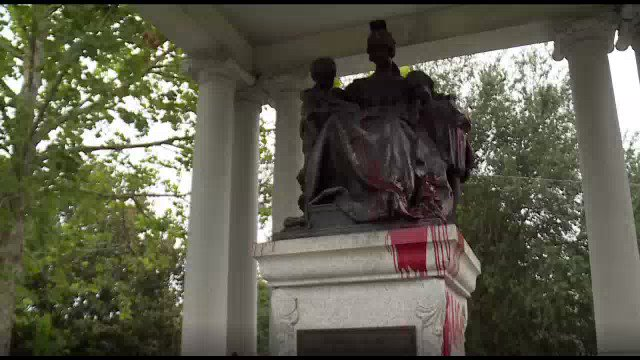 Vandals hit Confederate Park memorial to the Civil War @FCN2go bit.ly/2Y1qB3M