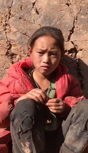"""野山on Twitter: """"中国陷入多重贫困中的""""留守儿童""""。… """""""