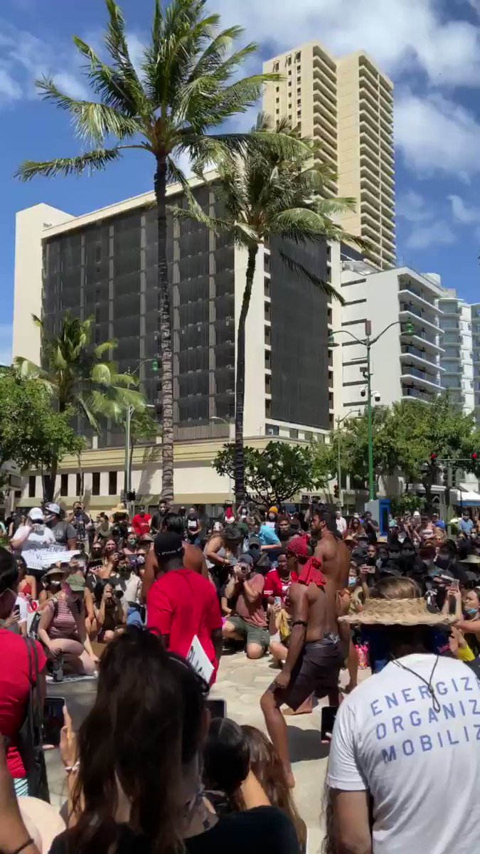 Replying to @sarahannwithanh: Hawai'i for #BlackLivesMattters .