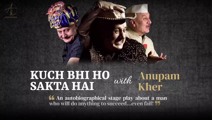 Testing times and trust Anupamji to keep going. 😊 Best always. 👍🏻 @FFW_Official @AnupamPKher