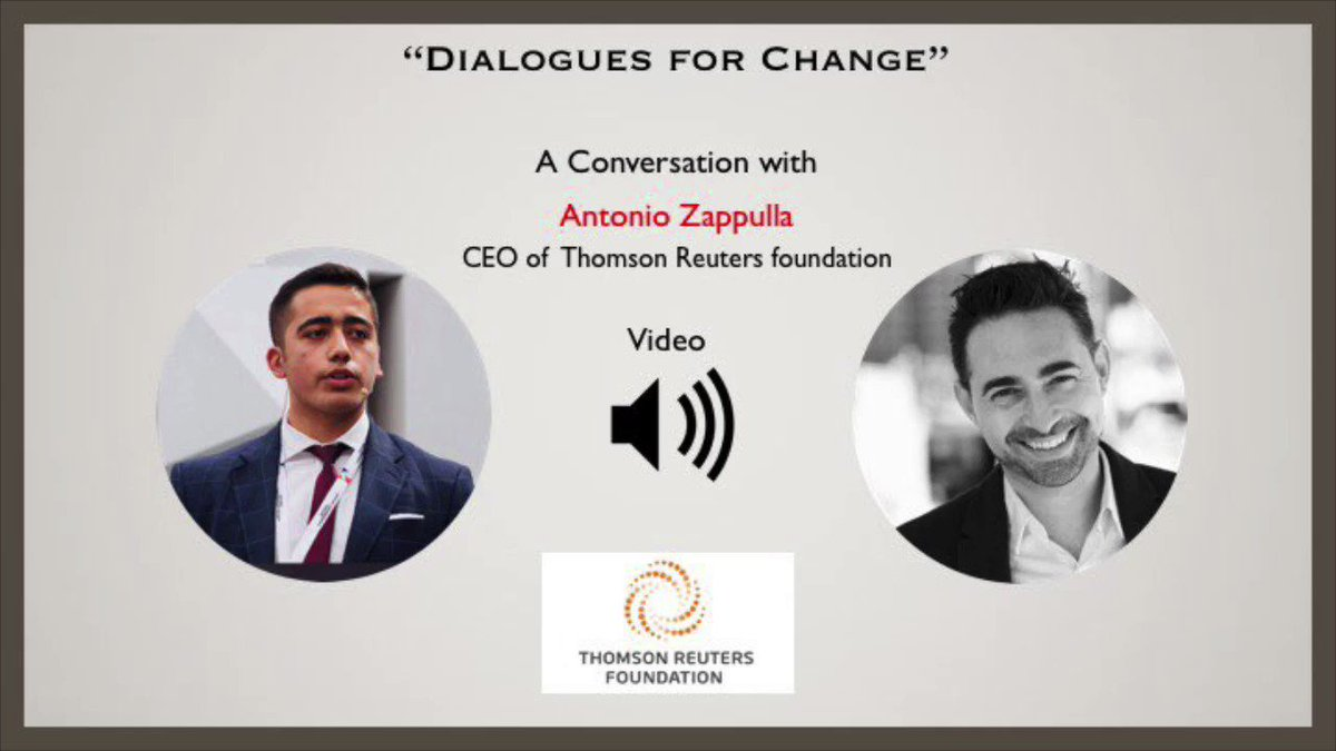Here's my conversation with @AntoZappulla A great discussion on crucial issues & @TRF initiatives including: - TC talks - a fantastic opportunity for young people! 💪 - Human rights. 📢 - Media freedom 🎥 -Inclusive economies 👨👩👧👦 Watch the full vid here: facebook.com/15081085828374…