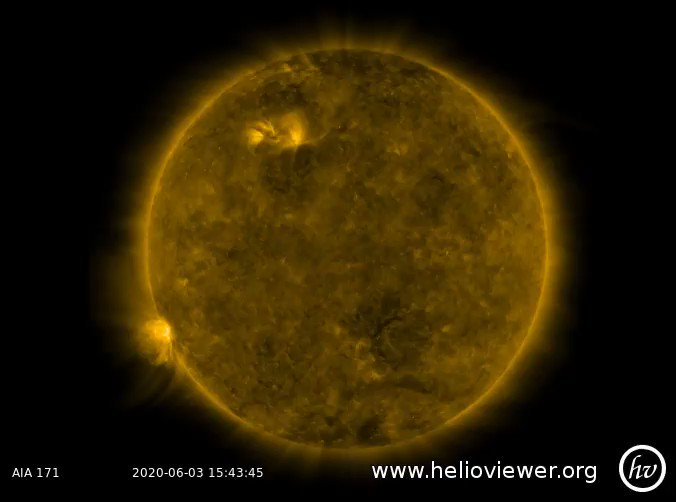Image for the Tweet beginning: New #sunspots on the southern