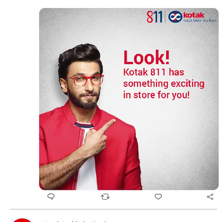 Join #RanveerSingh as he gives you a sneak-peek into the new way to get your own zero-contact, full-fledged Kotak 811 savings account in a hassle-free manner. Do a lot more, as you #BankFromHome and live the #811VKYCLife!  To know more, visit: