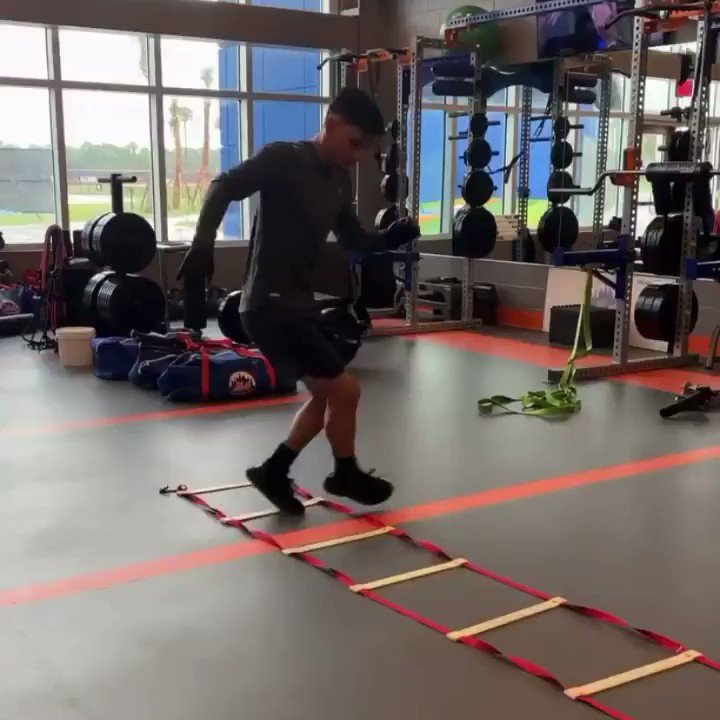 👀 Gimenez putting in work at the @Mets facility in Port St. Lucie. 💪 (via @andresgimenez's Instagram)