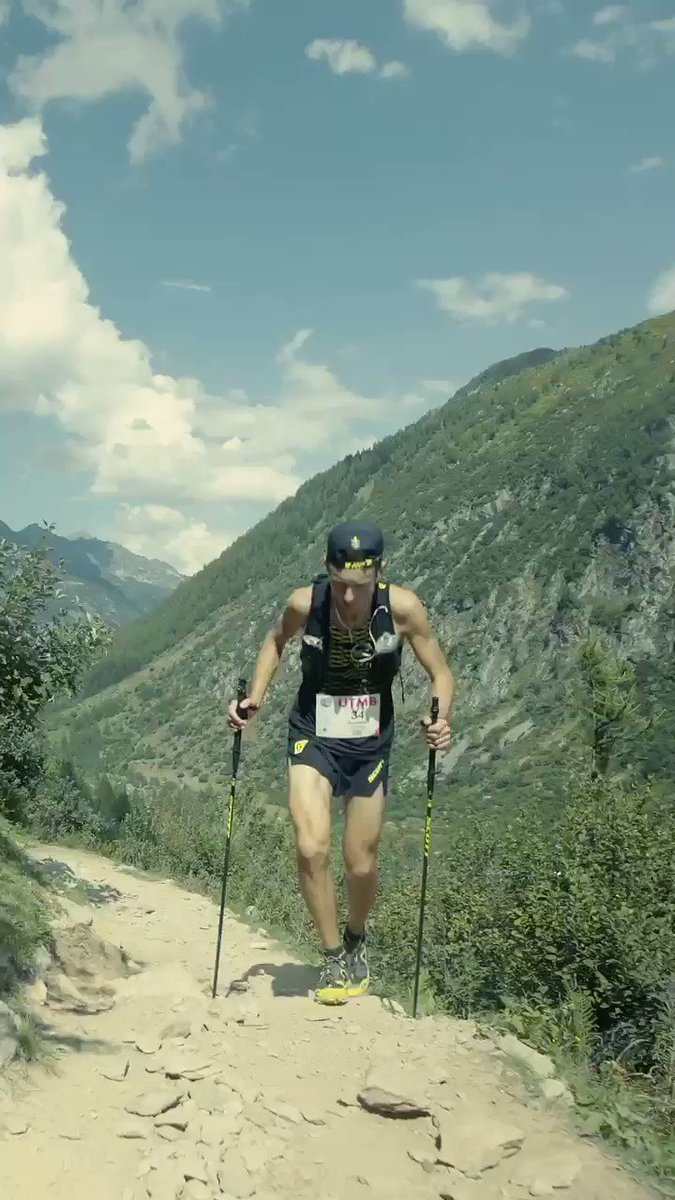 Remembering how it used to feel to run free in nature. @UTMBMontBlanc beautiful!