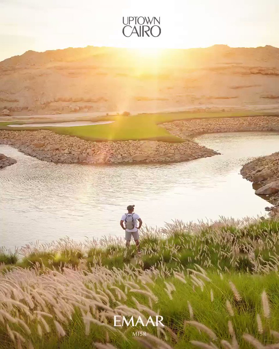 Here's to another hidden gem uncovered, a magical golf course surrounding the clubhouse, where you will discover a rush of natural bliss that awaits you and will surely inspire you. #Emaar #EmaarMisr #UptownCairo #HiddenGemsUncovered https://t.co/PB8AMrq0JJ