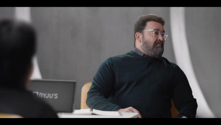 Star in styled @Mohanlal for @BYJUSApp directed by @NirvanaFilms dop @KUMohanan1 #Mohanlal #jishadshamsudeen #prakashvarma #kumohanan