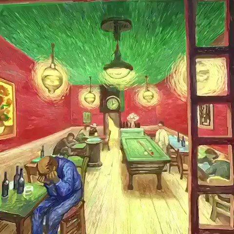 Vincent van Gogh's world in virtual reality. 🎥 TW: @VigilanteArtist