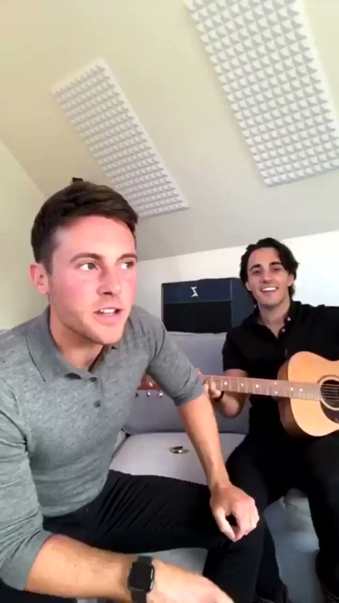 See these two singing this song again - @iamNATHANCARTER & @jakecartermusic  love it!  Tonight on BBC N.I. at 8.00 pm. At last ... something to look forward to! 🙌🥰🏡🎤🎼🎸 https://t.co/EVM4BYzIfq