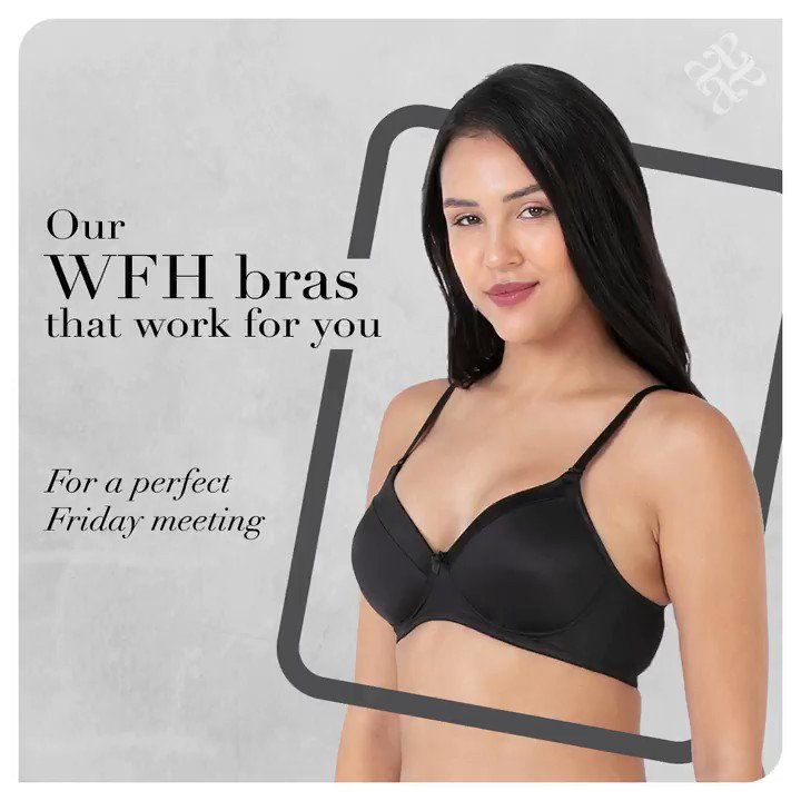 These comfy #bras are our secret to staying in comfortably & acing #WFH. We have a feeling you are going to want to scoop up all three.  #amantéIndia #IntimateWear #Lingerie #Fashion #Friday #FridayMood #WeekendMood #Weekend #Work #WorkFromHome #WorkingFromHome #Quarantine https://t.co/Fh4ywyZAWK