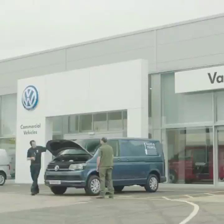 Our very first TV advert thanks to @VWGroup lets hope its not our last !