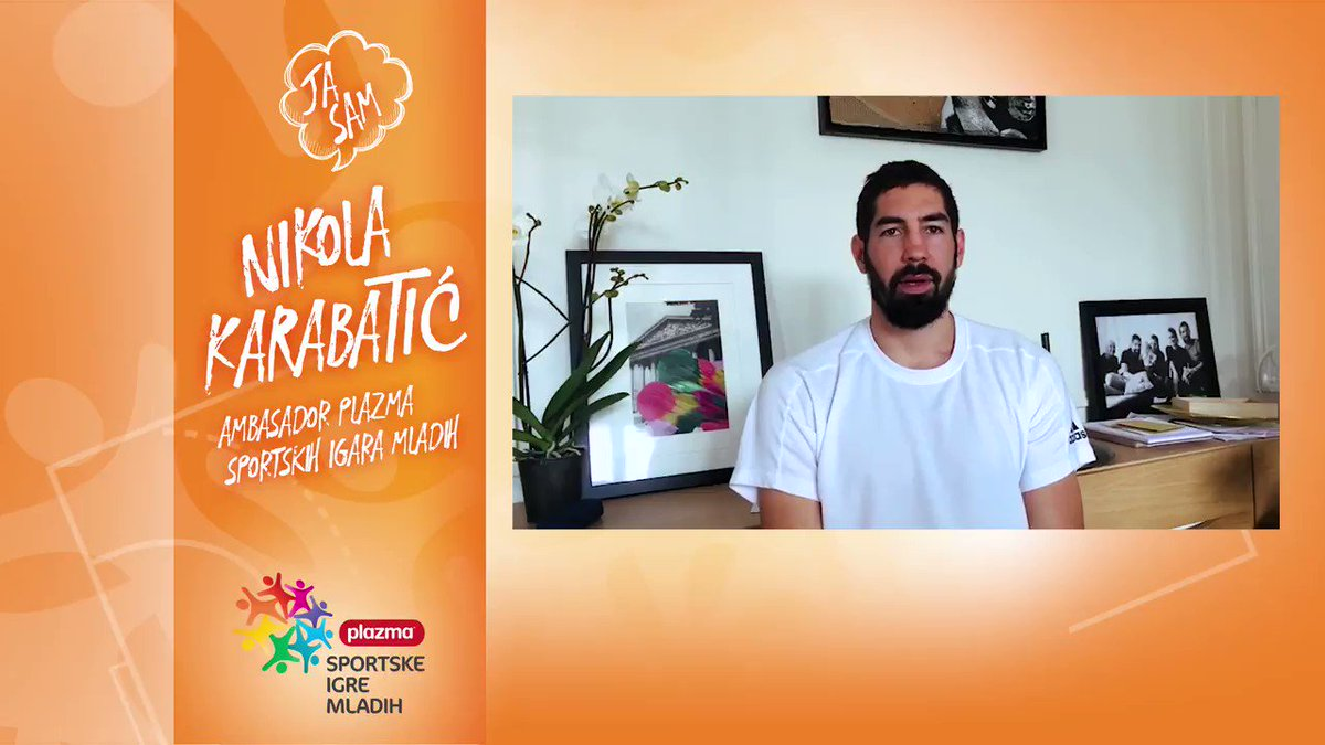Image for the Tweet beginning: Children, sports and @NKARABATIC...the new