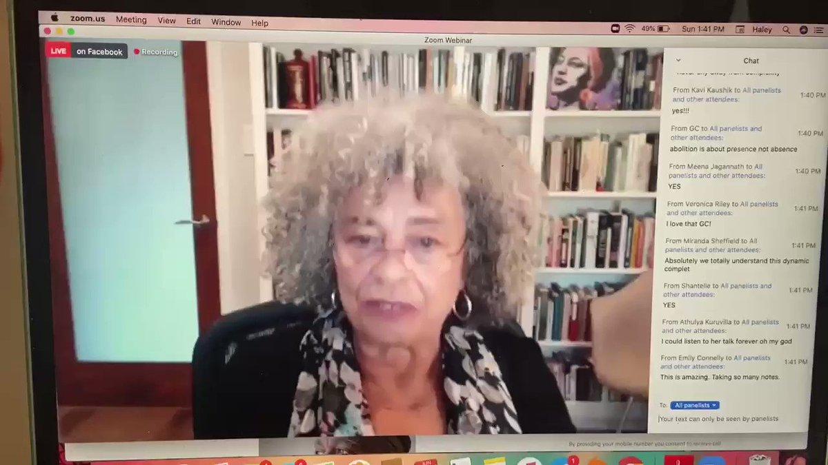 Angela Davis on why abolition NEEDS anti-racist, anti-capitalist feminism: