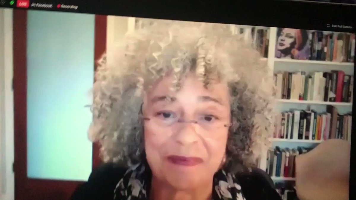 """Dr. Angela Davis on the role of the trans and non-binary communities in the fight for the feminist abolition she advocates for: """"The feminism I'm referring to does not respect the binary structure of gender..."""" https://t.co/BUT54Lfroq"""