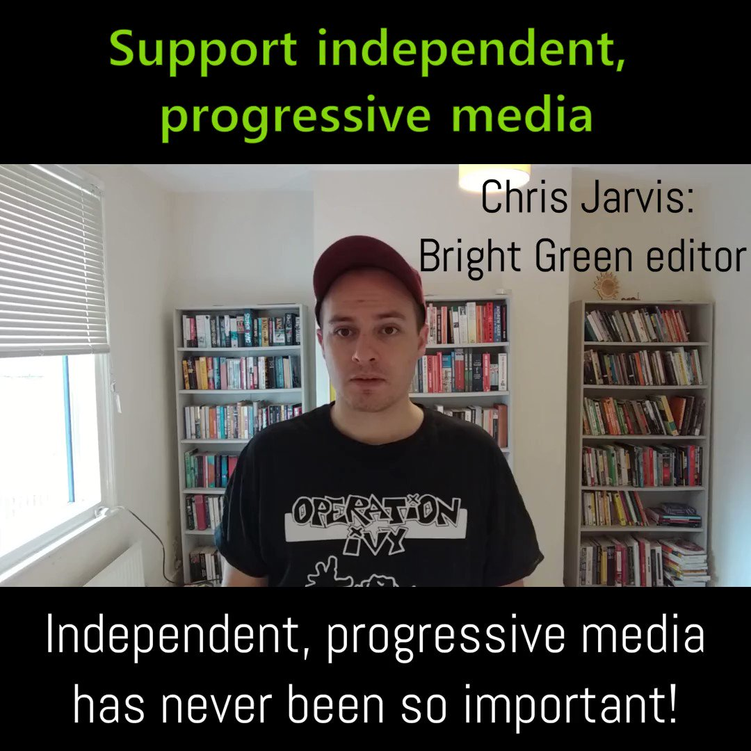 Independent, progressive media is vital. Help fund it: bright-green.org/donate
