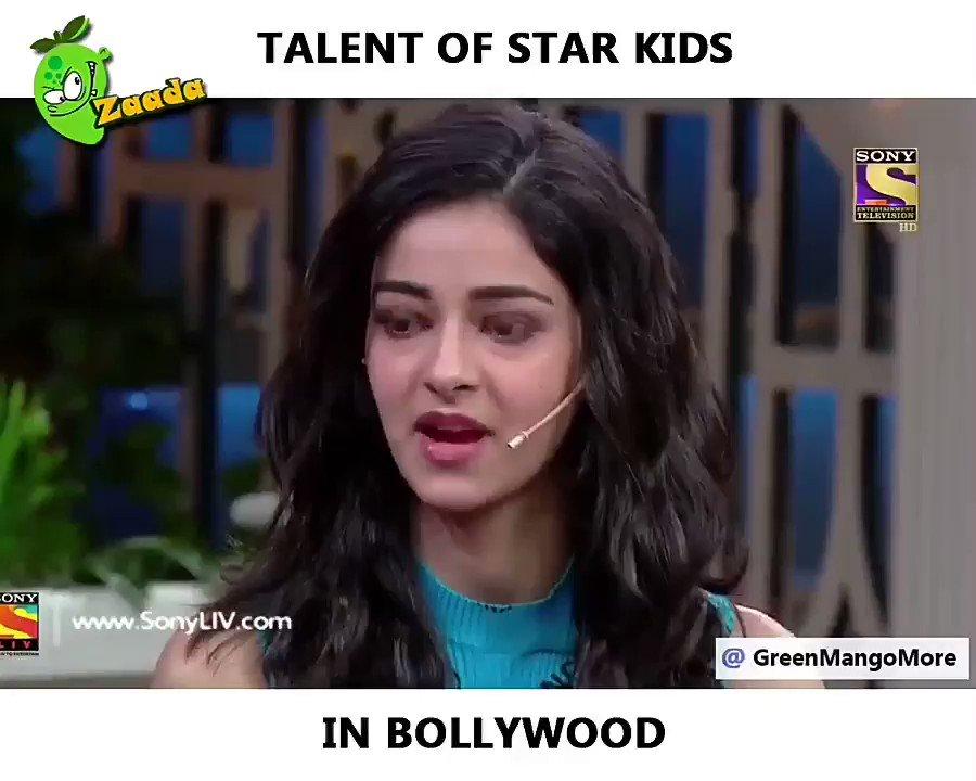 #nepotisminbollywood #bycottkarnjohrgangmovie #KaranJohar #boycottbollywood #shushantsingrajput #BollywoodBlockedSushant #Kangana #BollywoodBlockedSushant  Must watch it real talent of star kids  Please watch this 🙏🏻🙏🏻😂😂😂😂😂 https://t.co/MgSZjwhH2Y