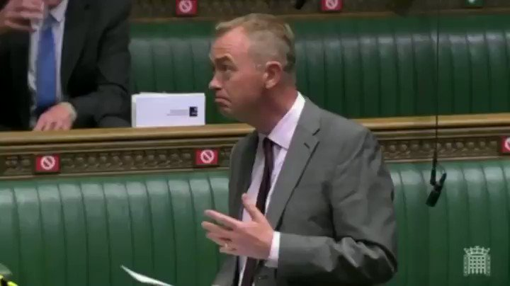 Image for the Tweet beginning: Thank you @timfarron for telling