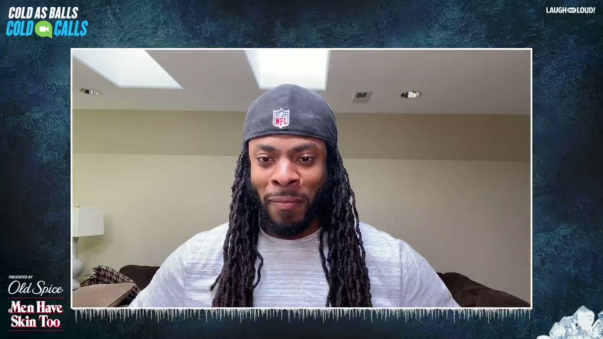 .@RSherman_25, how do you think @KevinHart4real did in his FIRST Cold Call interview? #ColdasBalls #SurpriseInterviewsThisSeason #PoweredByOldSpice  Full Episode -
