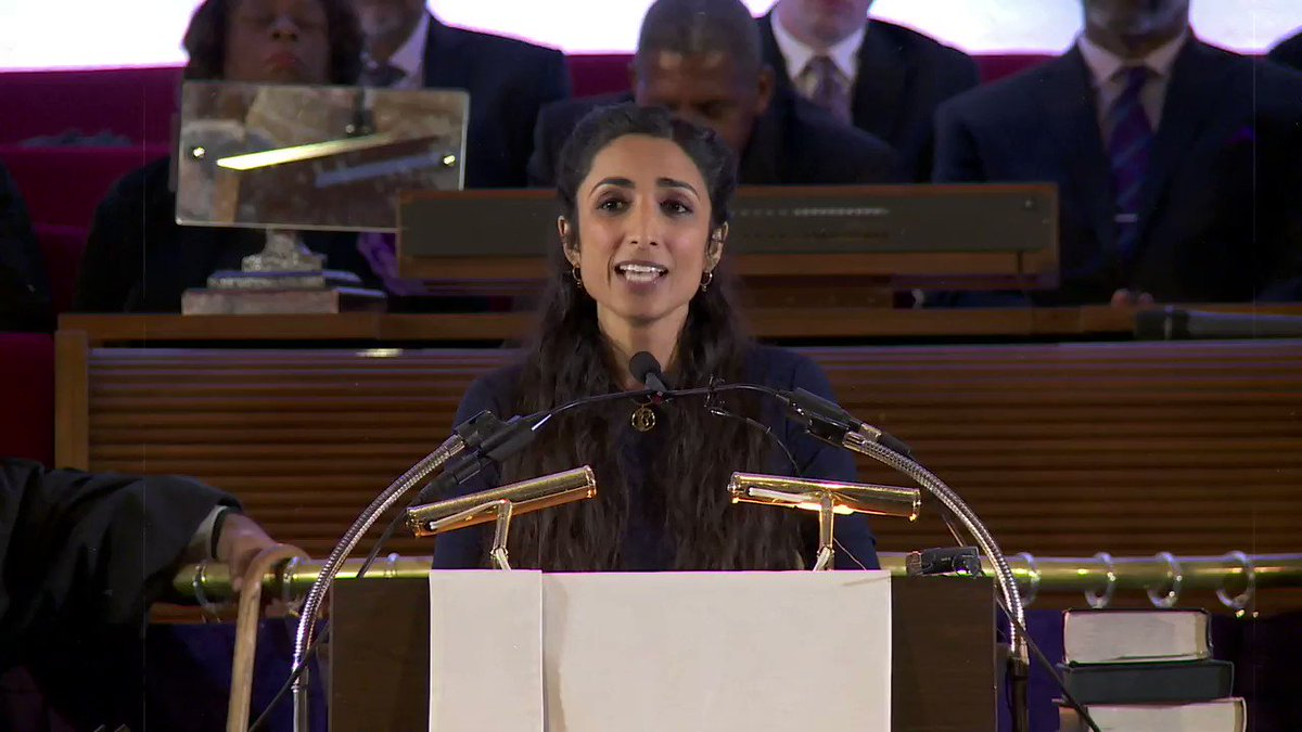 How do we show up in the long labor for justice? Breathe! And Push! @ValarieKaur shows us how. Her long-awaited book #SeeNoStranger is out today!   Credit: produced by VACO Studio, video credit: @BRepairers/Fusion Films