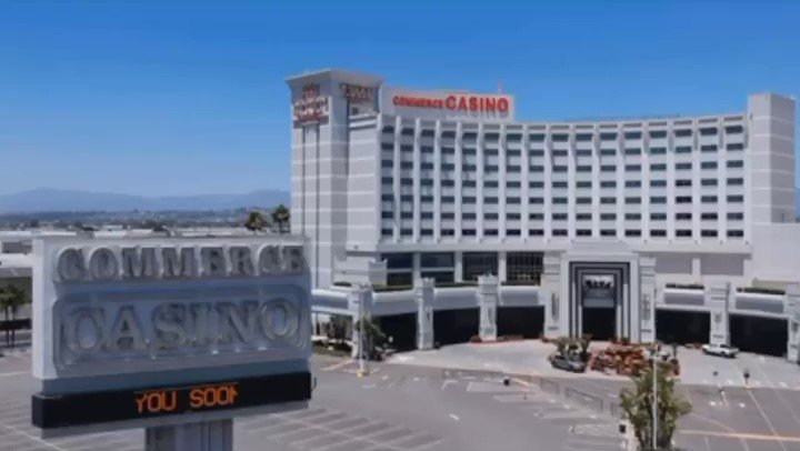 Check back for announcement tomorrow. #seeyousoon #commercecasino #wherethegamereigns