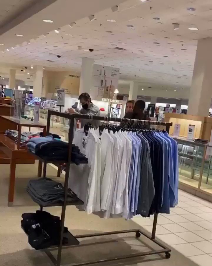 This guy brutally assaulted a Macy's employee because of his race and then slandered him by claiming he said the n-word, which was a lie. This is a horrific hate crime and if the races were reversed it would be the only thing we talk about for days.
