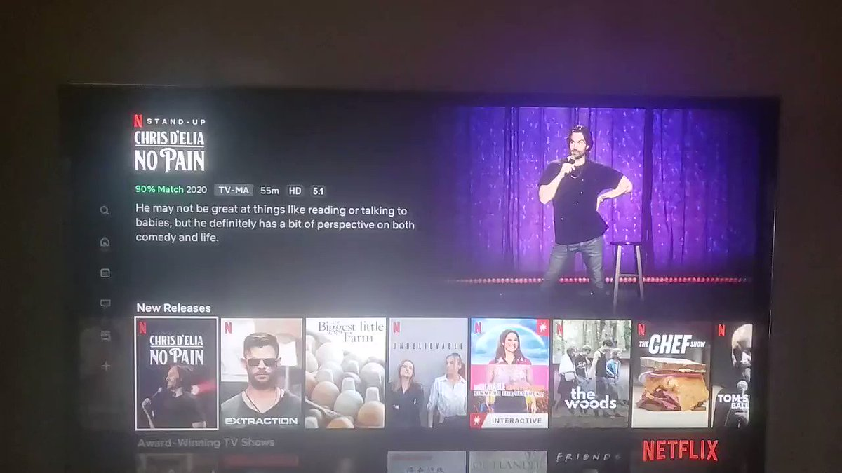 The clip on Netflix that previews Chris D'Elia's latest special is ... ill-considered